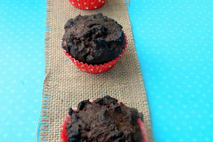 11 Moist and Delicious Muffin Recipes - Vegan Chocolate Lucuma Muffins Recipe.
